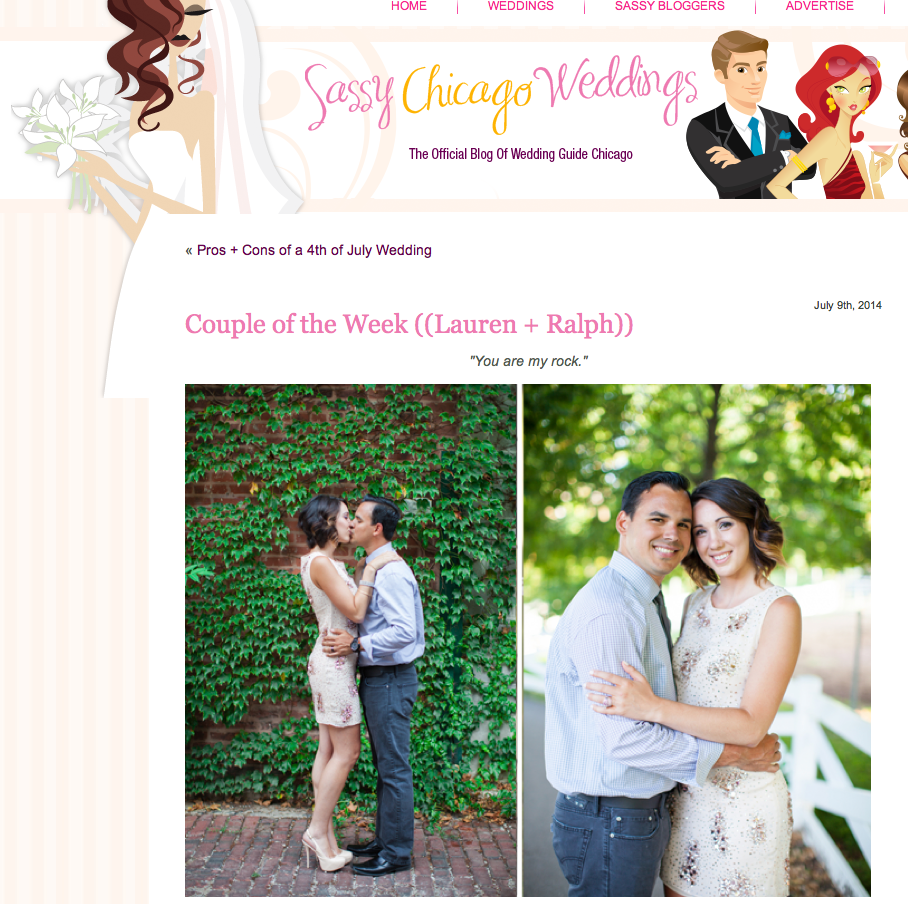 Featured The Wedding Guide Chicago Annie Steele Photography