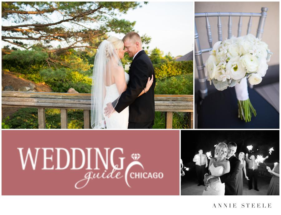 featured wedding guide chicago annie steele photography